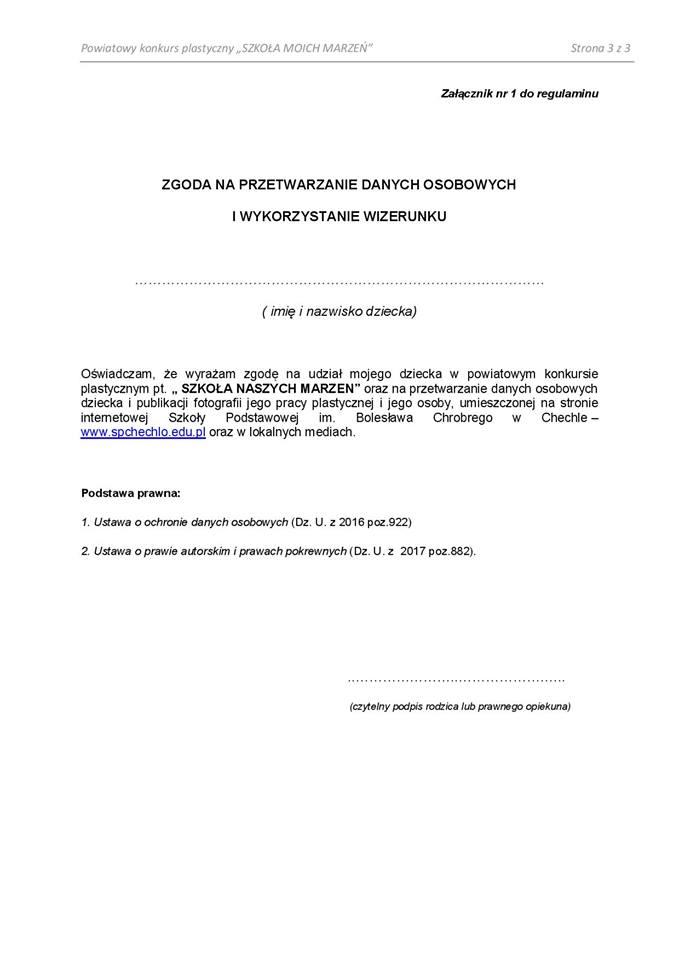 Powiatowy Konkurs Plastyczny 3.3